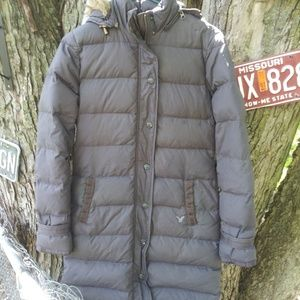 Ladies long American Eagle coat